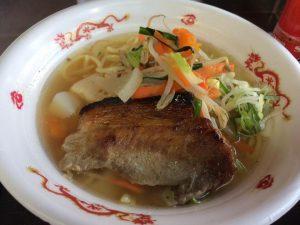 長岡ポーク&野菜たっぷりラーメン